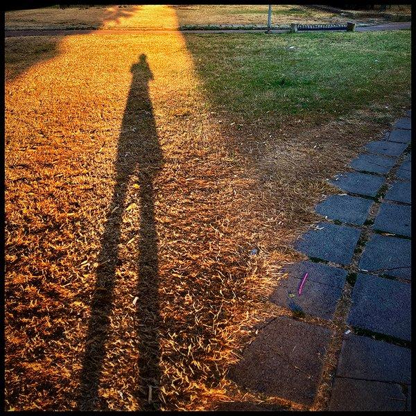 un ombra lunghissima