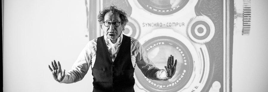 Roberto Carlone e la Rolleiflex di Vivian Maier